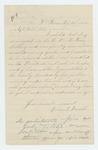 1864-02-21  John Burrill requests to be credited on the last call quota