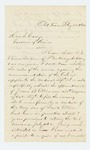 1864-02-22  John Blanchard requests the appointment of Dr. Jerome B. Elkins as surgeon