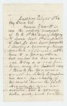1864-02-25  Hiram F. Swett requests a promotion