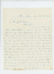 1864-02-26  Charles W. Lunt requests a commission