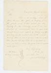 1864-03-16  Samuel Whelpley recommends John W. Dressley for promotion