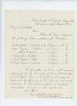 1864-03-18  Colonel Chaplin recommends promotions of John Knowles, Benjamin Rollins, Albert Abbott, James Hall, Hugh Porter, and Hiram Swett