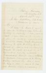 1864-03-27  John W. Pressley requests a commission