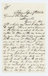 1864-04-07  H.A. Reynolds requests appointment in the regiment