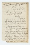 1864-04-20  Captain Zemro A. Smith requests bounty payments for brother George and others