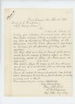 1864-04-22  Major R.B. Shepherd inquires about raising a regiment of 1800 men
