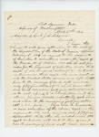 1864-04-27  George Maddox requests bounty payment for himself and other volunteers