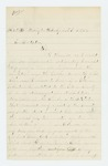 1864-04-29  Benjamin Frazier, Jr. asks if he is eligible for bounty payment as a veteran volunteer