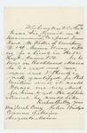 1864-04-30 John Bridges recommends Corporal James Reed McKellar for promotion