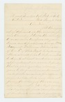 1864-05-05  John L. Robinson recommends promotion of Sergeant William Stevenson to an infantry regiment