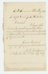 1864-05-10  Lieutenant Albert P. Eastman forwards his photograph to Adjutant General Hodsdon