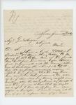 1864-06-11  Sumner Wheeler inquires about welfare of Lt. Albert P. Eastman