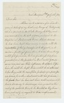 1864-07-23  Letitia Fitzgerald requests a furlough for her husband George, ill in Portsmouth Grove Hospital