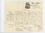 1864-08-04  Adjutant General Hodsdon writes Captain William H. Fogler requesting enlistment papers for Ezra E. Woodman