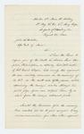 1864-08-27  Lt. Colonel Thomas H. Talbot informs Adjutant General Hodsdon of the death of Colonel Daniel Chaplin