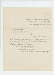 1864-08-30  Lt. Colonel Thomas Talbot recommends promotion of Lieutenant Benjamin Rollins due to death of Lieutenant James W. Clark