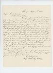 1864-09-07  Major Chris V. Crossman writes to Captain W.S. Clark about their wounding