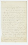 1864-09-07  Lieutenant A.J. Hilton inquires about tendering a resignation due to disability