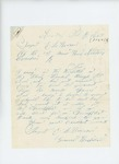 1864-09-20  Sergeant E.L. Hanscom requests his pay as he is sick in the hospital