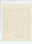 1864-09-21  Captain Frederic A. Cummings recommends Sergeant Clark for promotion