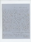 1864-09-27  Captain Frederic A. Cummings recommends Sergeant Daniel W. Pettengill for promotion