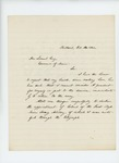 1864-10-14  Thomas H. Talbot declines to return to Army service due to ill health