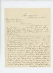 1864-10-24  Captain W.S. Clark recommends Sergeant Daniel H. Pettengill for promotion