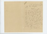 1864-11-09  James Harriman inquires about John B. McCastin, Co. G who was wounded at Petersburg