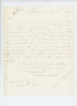 1864-11-19 Joseph Freeman requests information on the death of his brother William White, killed at Petersburg