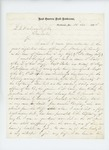 1864-11-20  George F. Brown writes concerning favoritism and injustices regarding promotions