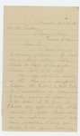 1864-11-25  A.O. Ingersoll writes regarding promotion of Captain Nute