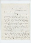1864-12-17  Colonel R.B. Shepherd writes General Hodsdon and answers concerns about favoritism