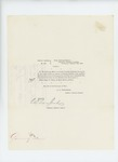 1864-12-10  Special Order 439 honorably discharging Major George W. Sabine from service