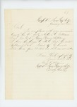 1865-01-21  Benjamin Rollins certifies the death of William Fish, Company E, due to chronic diarrhea