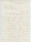 1865-02-03  Colonel Shepherd forwards names for promotion to Governor Cony