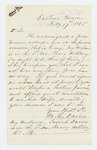 1865-02-17  M.L. Davis of Castine inquires about her husband Josiah, who she has not heard from