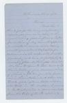 1865-02-21  J.H. Ramsdell writes Adjutant General Hodsdon requesting promotion for his son