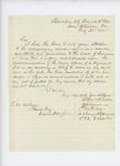 1865-02-25  Albert R. Lincoln requests promotion to surgeon