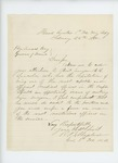 1865-02-25  Colonel Russell Shepherd recommends Assistant Surgeon Albert R. Lincoln for promotion