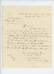 1865-03-18  Colonel Russell Shepherd recommends Captain Harrison G. Smith and others for promotion
