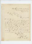 1865-04-22  Lieutenant Colonel Zemro Smith writes Adjutant General Hodsdon regarding Joseph Jordan and John Miller
