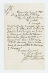 1865-05-15   Joseph Woodward requests information on Archibald McDougall