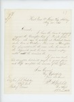 1865-05-22  Lieutenant and Adjutant P.H. Gatchell requests a descriptive list for Private John Daily