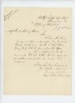 1865-07-11  Captain Henry Waters requests a descriptive list for Private Francis A. Sullivan