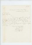 1865-07-20  Lieutenant C.L. Heywood apologizes for delay in sending the return of Company M