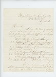 1865-08-09  Colonel Shepherd requests commissions for several officers