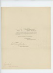 1865-08-26  Special Order 462 discharging Corporal F.A. Barrett from service