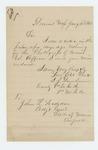 1866-01-11  Lieutenant I.J. Dunham sends his photograph to the Adjutant General