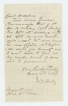 1866-03-08  George E. Weeks inquires about James Kavanaugh and bounty payment