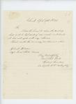 1866-04-14  Captain Hudson Saunders returns incorrect list to Adjutant General Hodsdon for correction